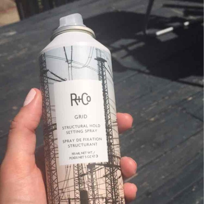 R+Co GRID Structural Hold Setting Spray uploaded by Darah H.