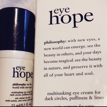 philosophy hope in a tube high-density eye and lip firming cream uploaded by Gabrielle H.