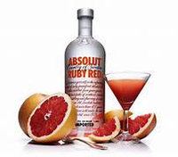 Absolut Ruby Red Vodka uploaded by Ashley W.