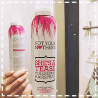 Not Your Mother's® She's A Tease Volumizing Hairspray uploaded by Roxanne K.