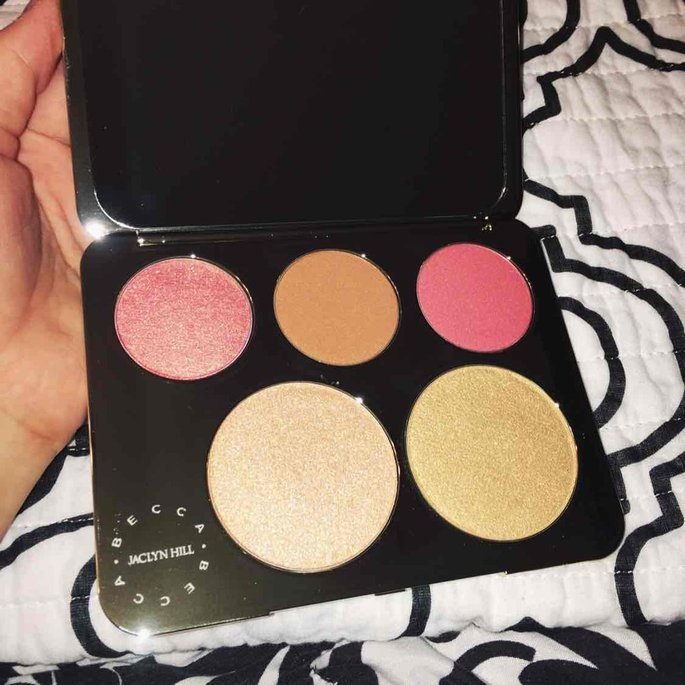 BECCA x Jaclyn Hill Champagne Collection Face Palette uploaded by Stephanie O.