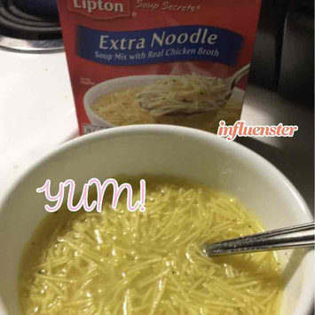 Photo of Lipton Soup Secrets Extra Noodle with Real Chicken Broth Soup - 2 CT uploaded by Briana J.