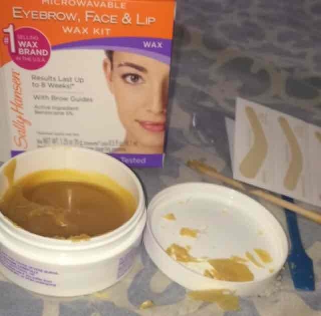 Sally Hansen Eyebrow, Face & Lip Wax, Microwaveable, wax 1.25 oz uploaded by alina j.