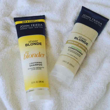 Photo of John Frieda® Sheer Blonde Go Blonder Lightening Shampoo uploaded by Grace S.