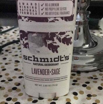 Schmidt's Deodorant Lavender + Sage Deodorant uploaded by Jessica E.