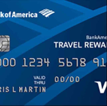 Bank of America Travel Rewards Credit Card uploaded by Amber E.