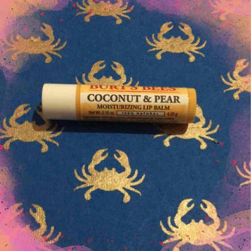 Photo of Burt's Bees Coconut & Pear Lip Balm uploaded by Milca N.