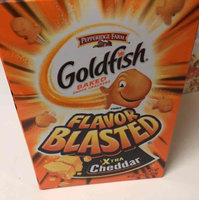Goldfish® Flavor Blasted® Xtra Cheddar Baked Snack Crackers uploaded by Ashley P.