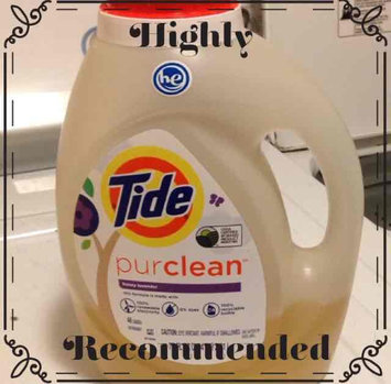 Tide PurClean Liquid Laundry Detergent For Regular and HE Washers, Honey Lavender Scent, 2.21 L, 48 loads uploaded by Tina M.
