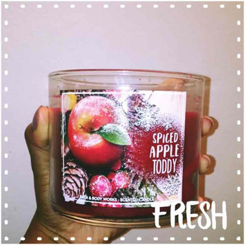 Photo of Bath & Body Works® SPICED APPLE TODDY 3-Wick Candle uploaded by Charnay R.