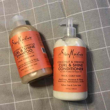 Photo of SheaMoisture Coconut & Hibiscus Curl & Shine Shampoo uploaded by Nicole S.