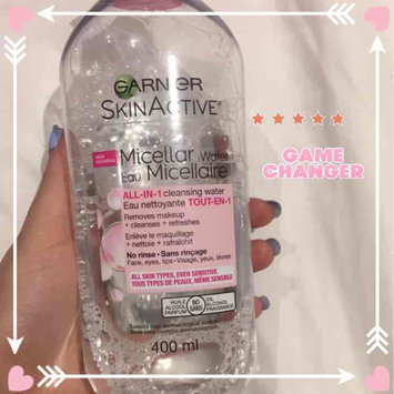 Garnier Micellar Cleansing Water for Combination & Sensitive Skin uploaded by Shahad S.