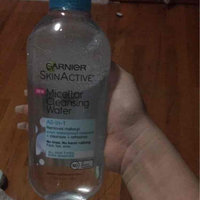 Garnier Skin Skinactive Micellar Cleansing Water All-In-1 Cleanser and Waterproof Makeup Remover uploaded by Kimberly R.
