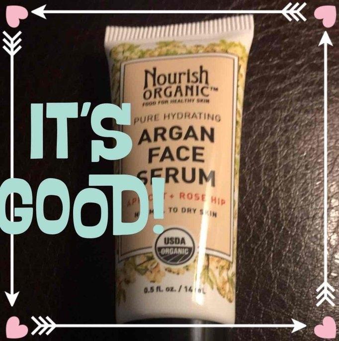 Nourish Organic Argan Face Serum Apricot + Rosehip uploaded by Victoria G.