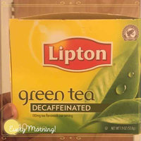 Lipton Decaffeinated Green Tea uploaded by Kristen M.