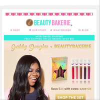 Beauty Bakerie Gabby Douglas Collab Set uploaded by Nicole M.