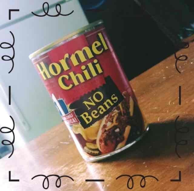 Hormel Chili No Beans uploaded by Tori K.