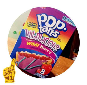Photo of Kellogg's Pop-Tarts Wildlicious Frosted Wild Berry Toasted Pastries uploaded by Tori K.