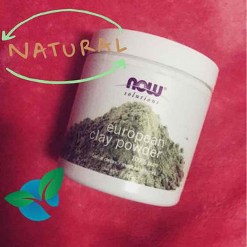 Photo of NOW Foods Solutions European Clay Powder - 6 oz uploaded by Kim G.