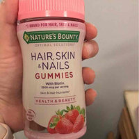 Nature's Bounty Hair, Skin, and Nails Gummies uploaded by Cheryl C.