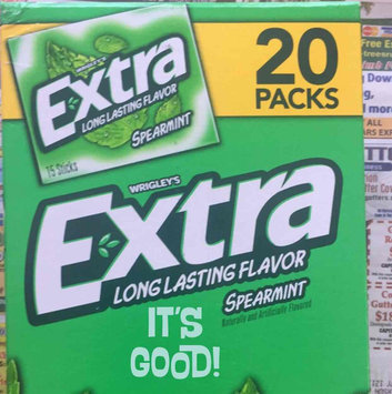 Photo of Extra Spearmint Sugar-Free Gum uploaded by Maria M.