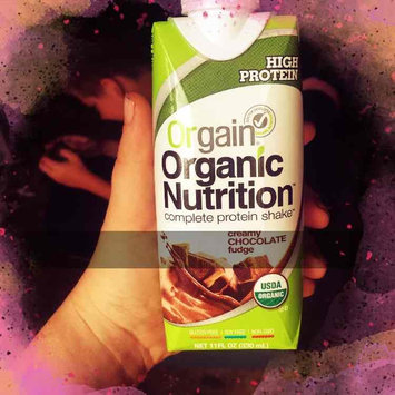 Photo of Orgain Organic Nutrition Creamy Chocolate Fudge Complete Protein Shake, 11 fl oz, 4 Pack, (Pack of 12) uploaded by Caitlyn B.