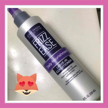 John Frieda Frizz-Ease Daily Nourishment Leave-In Conditioning Spray uploaded by Maria P.