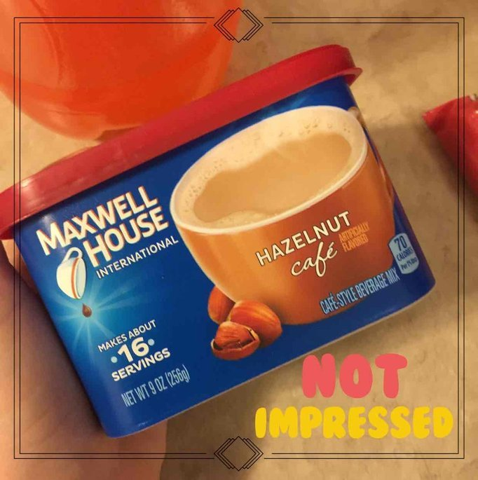 Maxwell House International Cafe Cafe-Style Beverage Mix, Suisse Mocha Cafe uploaded by Maria M.