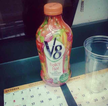 Photo of V8® 100% Spicy Hot Vegetable Juice uploaded by Kelly t.