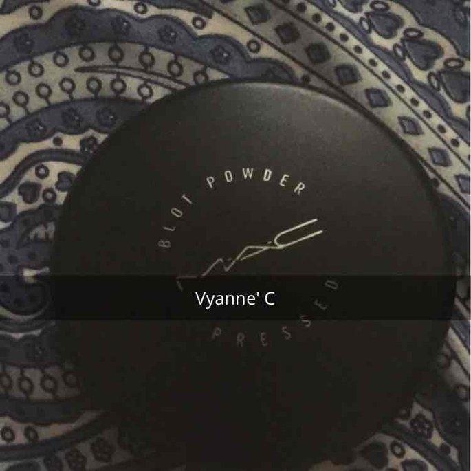 MAC Cosmetics MAC Blot Powder Pressed ~ Dark uploaded by Vyanne C.