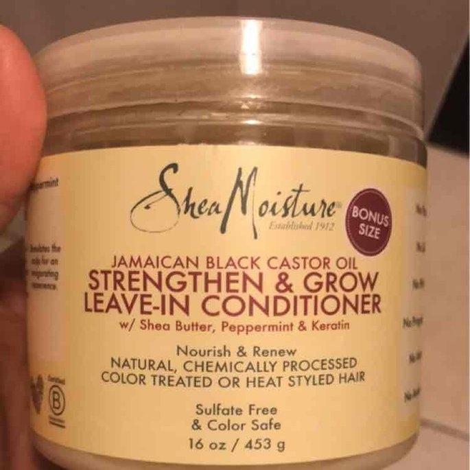 Sheamoisture SheaMoisture Strengthen, Grow & Restore Edge Treatment, Jamaican Black Castor Oil, 4 oz uploaded by Shayna M.