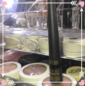 Photo of Milani Stay Put Matte 17hr Wear Liquid Eyeliner uploaded by Angel F.