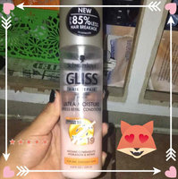 Schwarzkopf Gliss™ Hair Repair™ with Liquid Keratin Ultra Moisture Express Repair Conditioner 6.8 fl. oz. Tube uploaded by Gloria O.