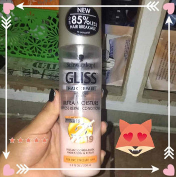 Photo of Schwarzkopf Gliss™ Hair Repair™ with Liquid Keratin Ultra Moisture Express Repair Conditioner 6.8 fl. oz. Tube uploaded by Gloria O.