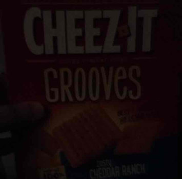 Cheez-It Grooves Zesty Cheddar Ranch Crackers 9 oz uploaded by Melissa C.