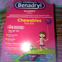 Children's Benadryl® Allergy Chewables Grape Flavored Tablets 20 ct Box uploaded by Allison B.