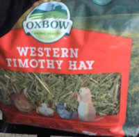 Oxbow O40229 OXBOW WESTERN TIMOTHY 90 oz. BAG uploaded by alina j.
