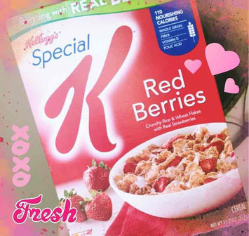 Kellogg's Special K Red Berries Cereal uploaded by Candy B.