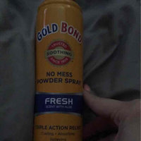 Gold Bond No Mess Powder Spray, Fresh Scent with Aloe, 7 oz uploaded by Betsabel R.