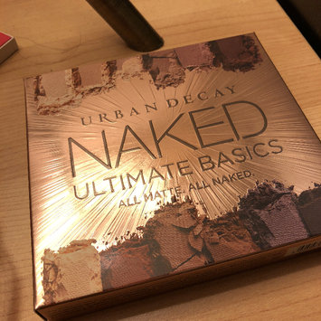 Photo of Urban Decay Naked Ultimate Basics Eyeshadow Palette uploaded by Carrie L.