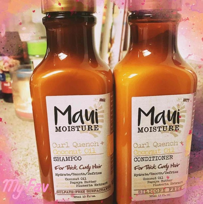 Maui Moisture Curl Quench + Coconut Oil Shampoo uploaded by Erika D.
