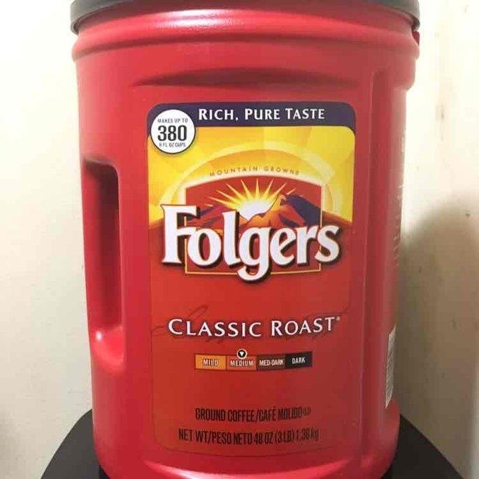 Folgers Coffee Classic Roast uploaded by Alison B.