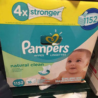 Pampers Wipes Pampers Natural Clean Baby Wipes - 1,152 Count uploaded by Erin P.