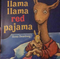 Llama, Llama Red Pajama (Board) uploaded by Amanda O.
