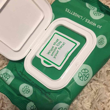 Photo of Yes To Cucumbers Shooting Hypoallergenic Facial Wipes uploaded by Abbie T.