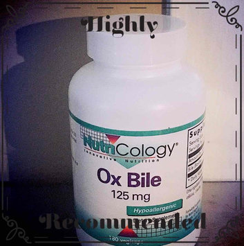 Photo of Nutricology Ox Bile, 100 CT uploaded by Dominique N.