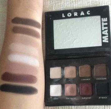 LORAC PRO Matte Eye Shadow Palette (Chocolate/Red/Latte) uploaded by Elsa M.