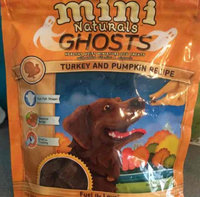 Zukes Zuke's® Mini Naturals, Ghosts Turkey and Pumpkin Dog Treat size: 6 Oz uploaded by Cat G.