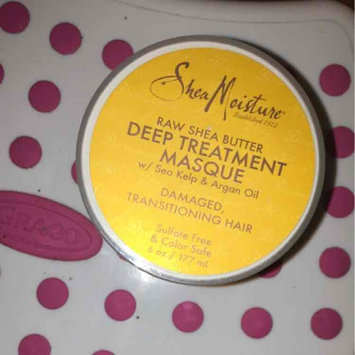 SheaMoisture Raw Shea Butter Deep Treatment Masque w/ Sea Kelp & Argan Oil uploaded by Samantha F.