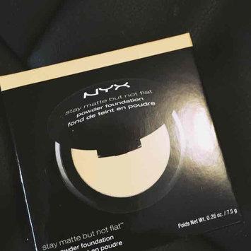 Nyx Cosmetics Stay Matte Powder Foundation uploaded by Tiffany H.